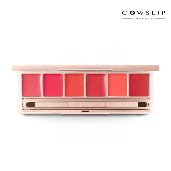 [HẾT HÀNG] Bảng son Sulwhasoo 6 màu Limited Luxury Lip Palette