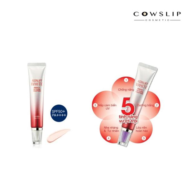 Kem chống nắng làm trắng Astalift UV Solution 50+/PA++++ 5in1